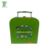 Supplier Different Colors Customized Paper Cardboard Suitcase Box With Handle