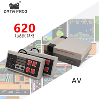 Data Frog Retro Mini Video 620 Game Console 8 Bit Family Game Consoles Built In 620 Classic Games