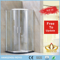 bathroom waterproof hidden shower room sliding door ROYO TSL6842