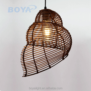 Squirrel Cage Pendant Light simple design for home decoration