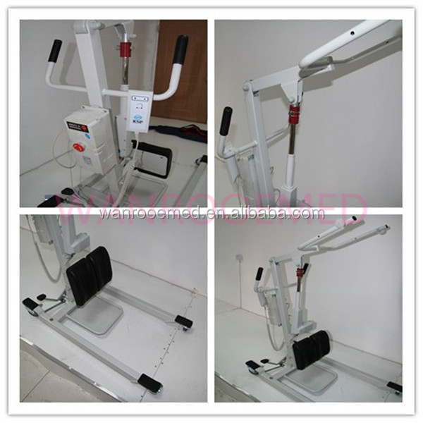 DG202 Quick Disassembly Stand-up Hoist Transfer Patient Lift With Slings