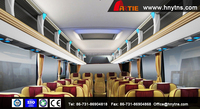 Best selling YT6118 Interior trim of luxury bus