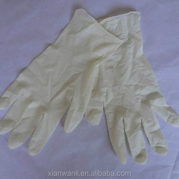 Latex Household Gloves Latex Surgical Gloves Non Sterile Latex Examination Gloves