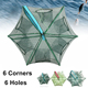 Outdoor leisure folding fishing crab traps/folding crab trap/green crabs traps
