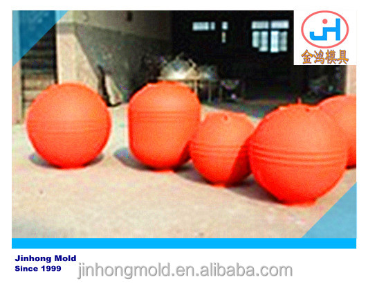 Rotational mold of floating ball pontoon mould