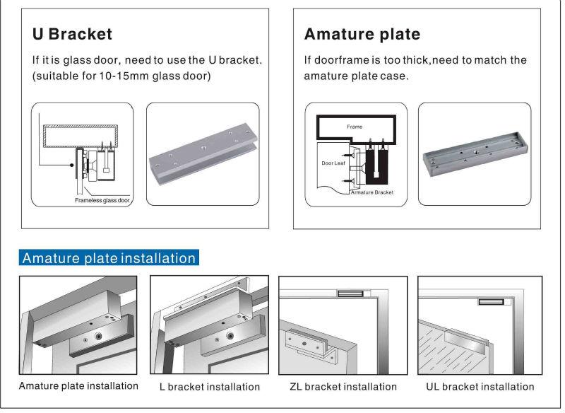 zl type magnetic lock bracket for inward door buy zl magnetic zl type magnetic lock bracket for inward door