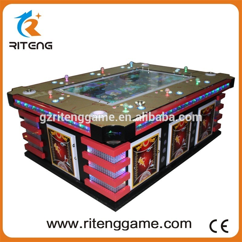 Chinese Supplier Dragon King Gambling Table Fishing Game Machine