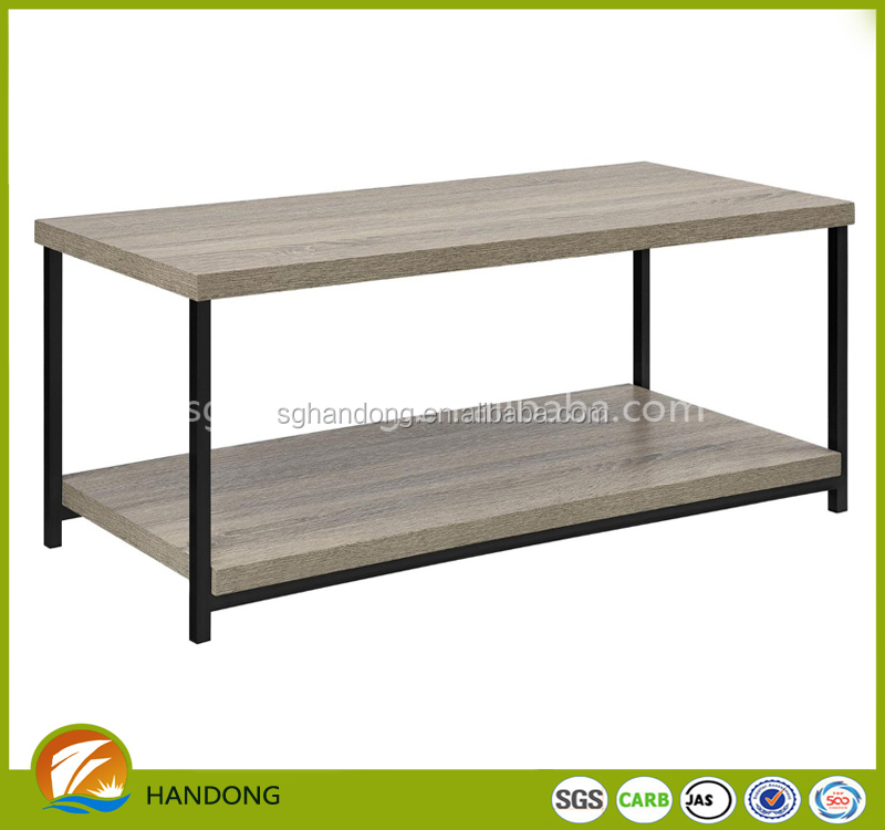Latest home design centre coffee tables/ double layer coffee table