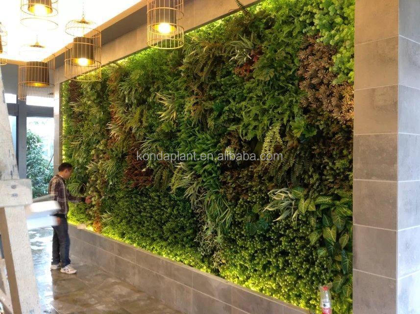 China Factory Price Fake Grass Wall Home Office Cafe Resturant Shop