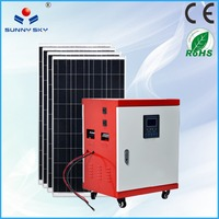 new energy 5kw off grid solar system solar power system for home TY086B