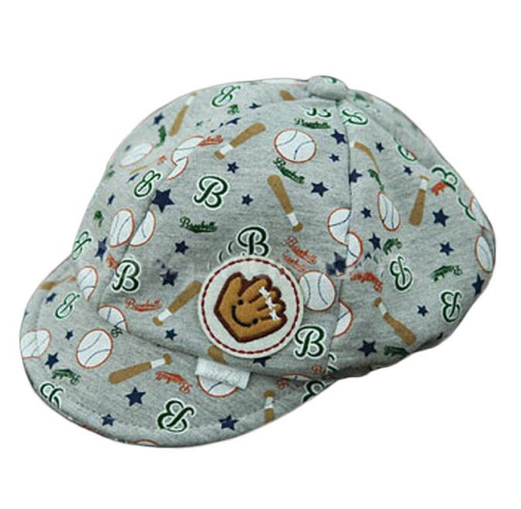 Baseball Cap Baby Hat Boy Hats For Kids Toddler Hats For Boys By Orangeskycn (Grey)