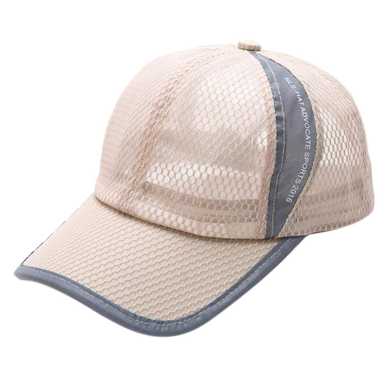 Baseball Cap, Summer Lightweight Breathable Mesh Hats for Men Women Sport Snapback Outdoor Sun Cap