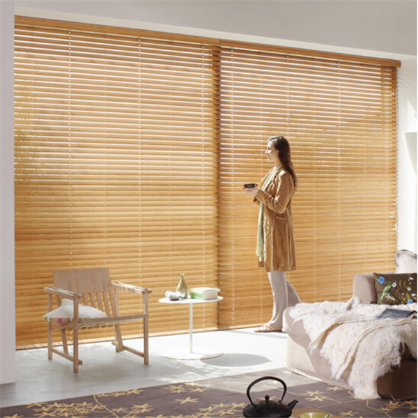 New arrival wooden and aluminum and bamboo venetian roller blinds 10 years company