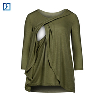 Pregnancy Breast Feeding Maternity Top Clothing