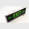 HONGMAO Manufacturer 3W LED exit light Metal exit sign