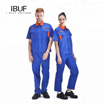 Factory Safety Work Clothes workwear Uniform for professional working  use
