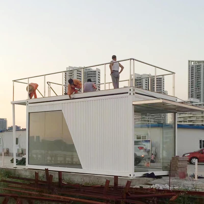 Prefabricated Land Sea Containers For Sale Modern Design