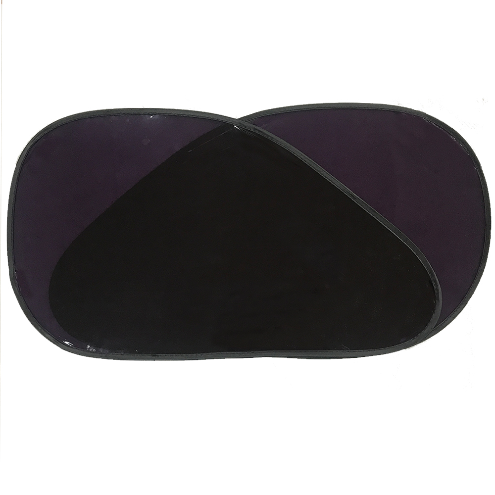 0.14mm 0.2mm Thick Custom Pop Up Sunshade Car Static Cling Sun Shade