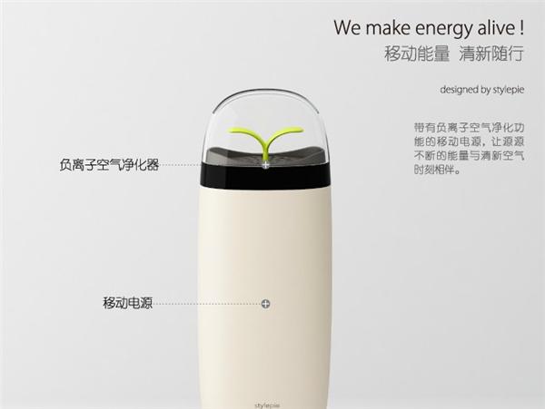 Ct-541 Hot Sale Eve Ionizer Power Bank Air Purifier Portable ...