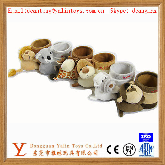 Soft plush toys animal stationary pen holder