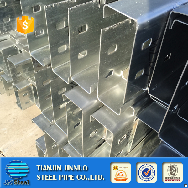 cold rolled and galvanized U Channel and steel C Channel