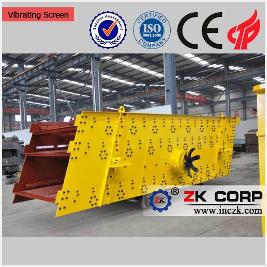vibrating screen for mining
