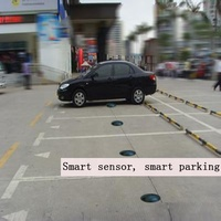 Outdoor wireless car parking guidance system replace ultrasonic sensor