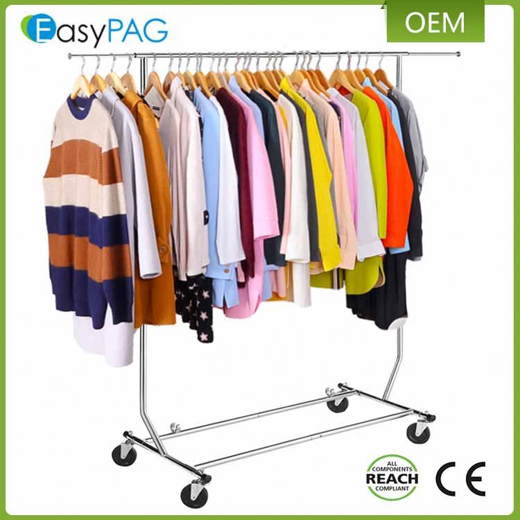 EasyPAG Wholesale Stainless Steel single pole Clothes Drying Rack