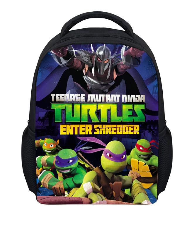 2459 Cool Teenage Mutant Ninja Turtles Children School Backpack Kid Gift Bag