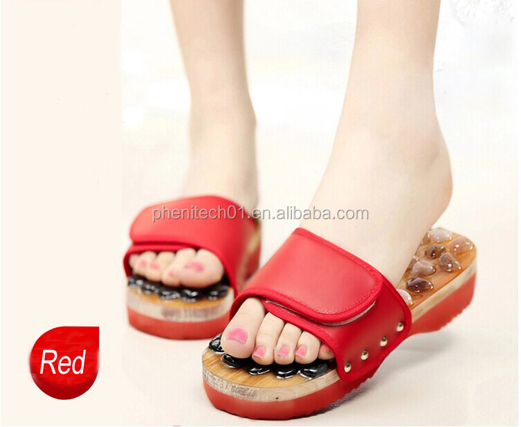 Hot Selling Beautiful Wood Japan Massage Slippers