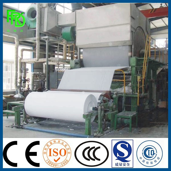 2400mm 10T/DAY automatic kitchen towel paper machine