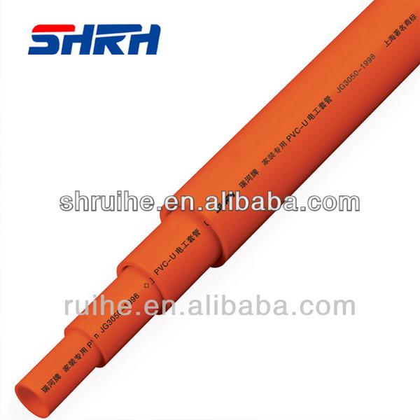 Tubo aislante de pvc upvc tubos mangueras de protecci n de - Tubo pvc electrico ...