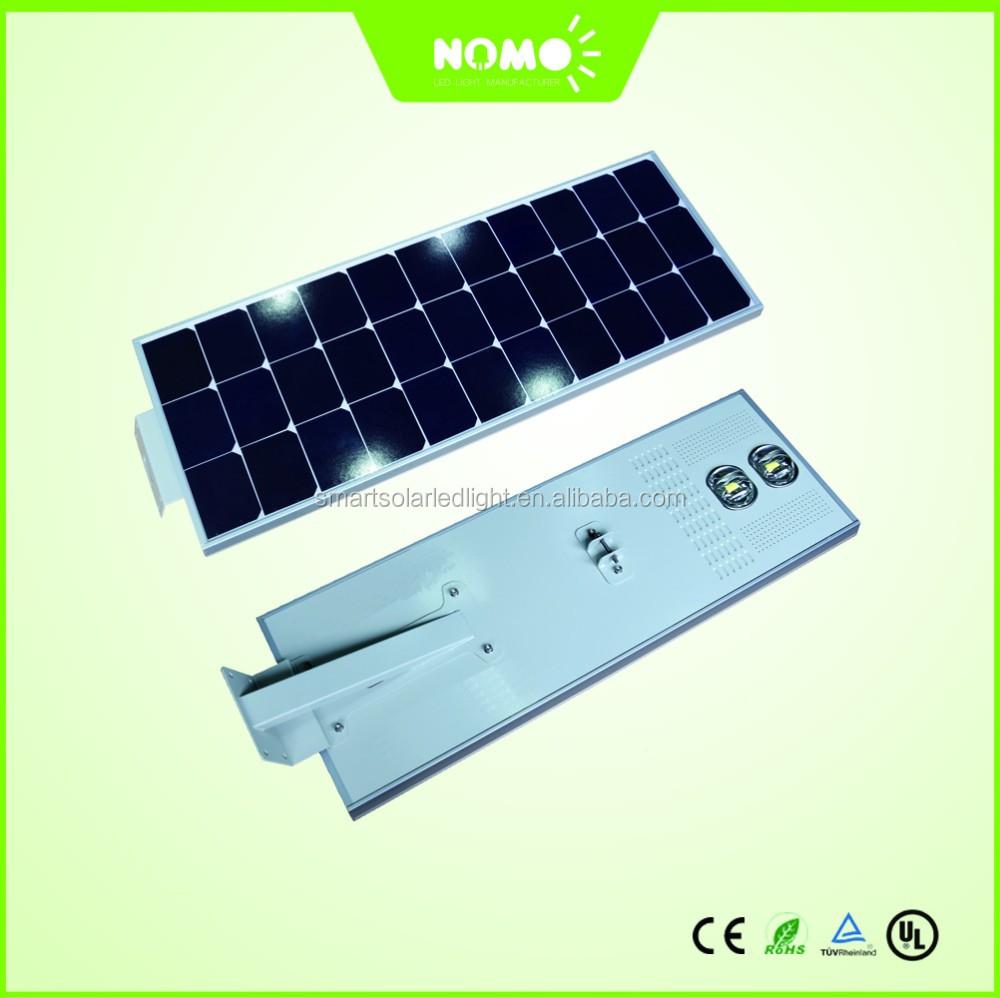 New Technology! All-in-one Solar Street Light Nomo-pvnsl-50w