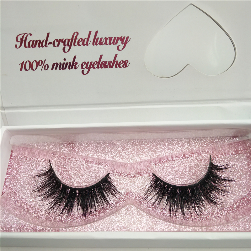 wholesale Alibaba Express Private label Custom Eyelash Packaging 100% Real mink fur lashes and custom eyelash package