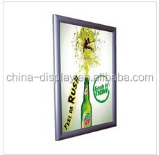 World cup ultrathin oled light panel advertising backlit poster frame a1 snap