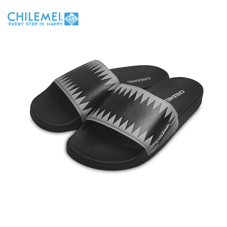 2017 comfortable durable men slippers sandals soft classical PU slide slipper for man