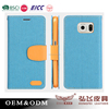Best selling PU leather phone cover for Sumsung S6