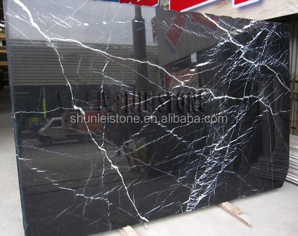 Hot Black Granite With White Veins
