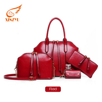 Made In France Quality Pu Leather Las Handbag Sets New Model Purses And Handbags