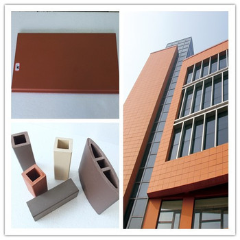 Building Materials Ceramic Tile ,exterior Cladding Tiles Terracotta Facade  3d Wall Panel Part 25