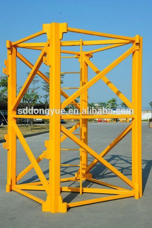 4t comansa type flat top topless tower crane for sale in dubai