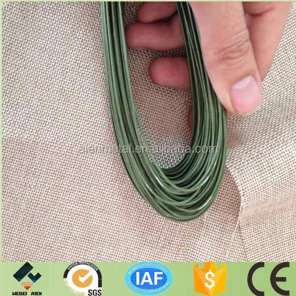 decorative paper covered stem wire
