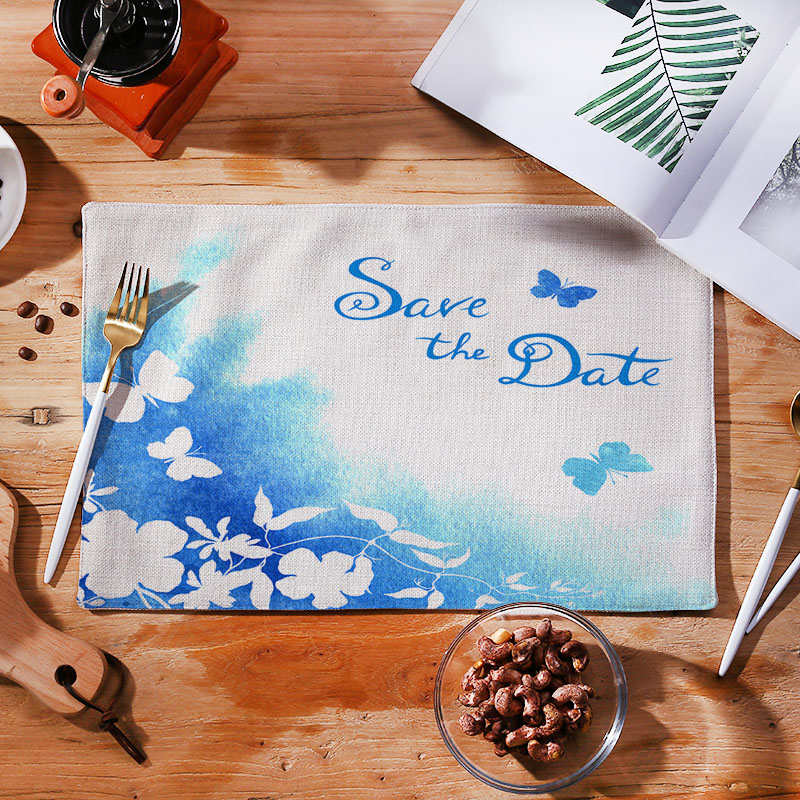 Custom design custom logos table cloth disposable table cloth roll Fashion table mat best quality
