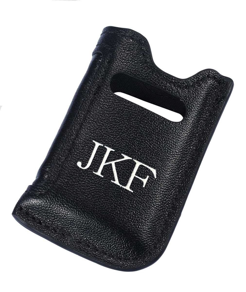 Personalized Genuine Leather Lighter Pouch for S.T. Dupont Maxijet Lighters with Free Printing