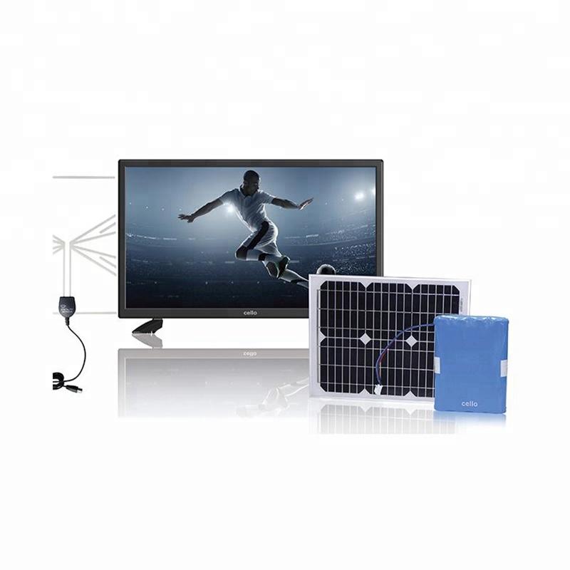 Solar panel 12v ac dc tv long duaration battery powered lcd tv,solar panel tv