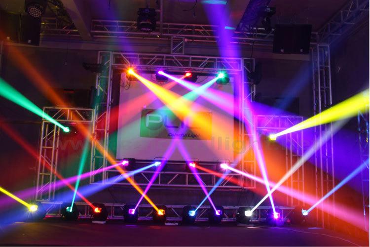 3D Light Show professional dj disco 3d stage animation laser spot lights show