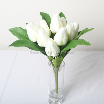 Decorative Artificial Tulip Bundle Flower For Car And Stage Decoration ,  Buy Flower Decoration In Stage Decoration,Artificial Flower Car