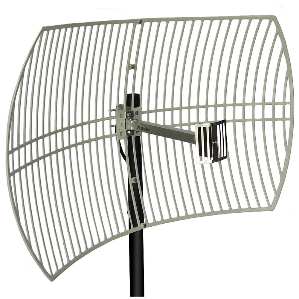 Get Quotations Altelix 24GHz 24dBi Directional Grid Parabolic Antenna N Female Connector Weather Resistant 24 GHz