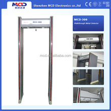 High precision and sensitivity security door frame metal detector and Security Door Checking