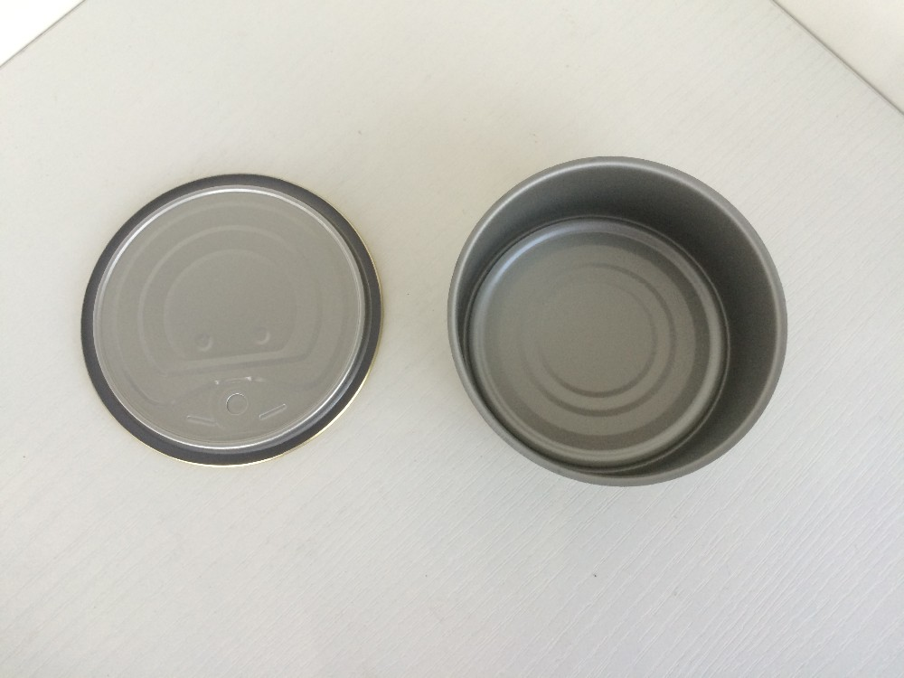 834# 2 piece food can empty food tin can for tuna packing